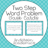 Two-Step Word Problem Task Cards {3.OA.8}