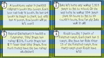 Two-Step Word Problem Step by Step