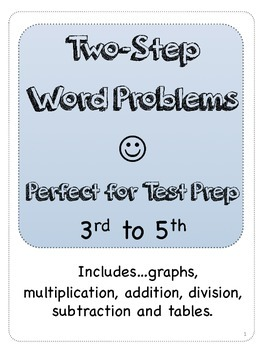 Two Step Word Problems (STAAR)