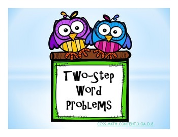 Two-Step Word Problems