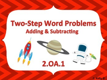 Two-Step Word Problems 2.OA.1