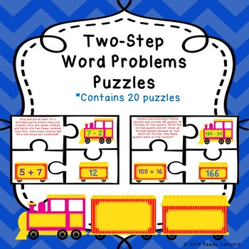 Two Step Word Problems 3rd Grade Addition And Subtraction