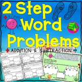 Two Step Word Problems Addition and Subtraction