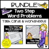 Two Step Word Problems Addition & Subtraction Bundle