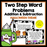 Two Step Word Problems Addition & Subtraction Task Cards -