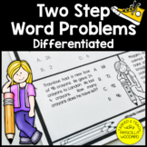 Two Step Word Problems Addition & Subtraction Worksheets
