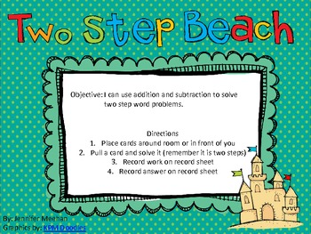 Two-Step Word Problems-Addition and Subtraction