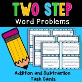 Two Step Word Problems--Addition and Subtraction