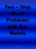 Two Step Word  Problems : Bar Models