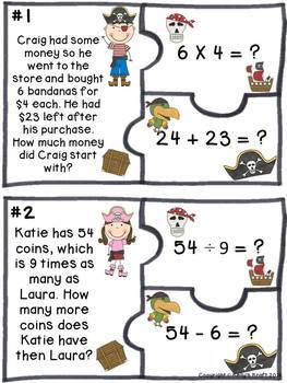 Two-Step Word Problems Bundle