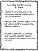 Two-Step Word Problems: 3rd Grade