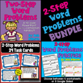 Two Step Word Problems Bundle of Activities