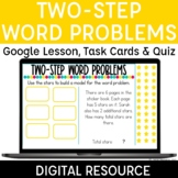 Two Step Word Problems Digital for Distance Learning | Mul