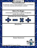 Two-Step Word Problems January Free Sample