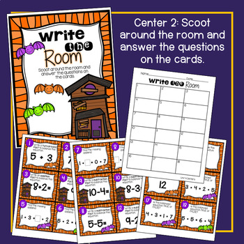 Two Step Word Problems Math Center! With Bonus Review Scoot!