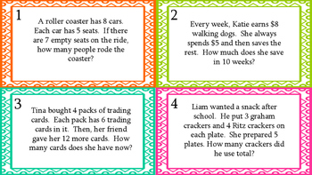 Two Step Word Problems/Order of Operations