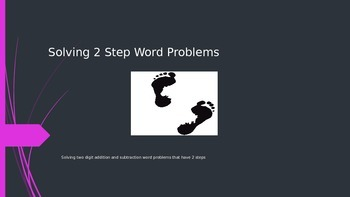 Power Point Two Step Word Problems