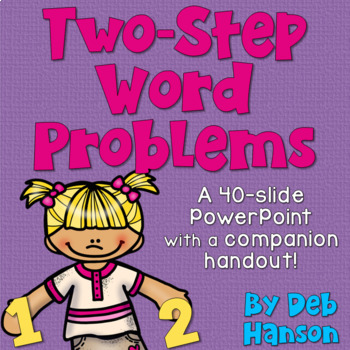 Two Step Word Problems PowerPoint