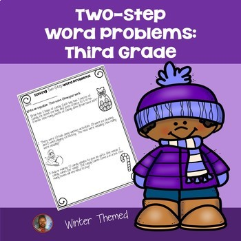 2 Step Word Problems 3rd Grade Worksheets Teaching