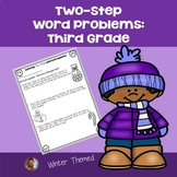 Two-Step Word Problems: Third Grade