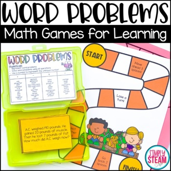 Two Step Word Problems Third Grade