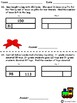 Two-Step Word Problems 2 Step Bar Models - December Themed Math Problem Solving