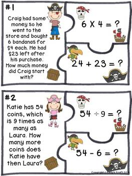 Two-Step Word Problems with all operations