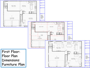 Two Story Colonial House for Drafting