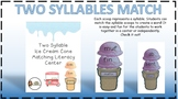 Two Syllable Creation- Color Coded