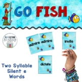 Two Syllable Silent e Card Game