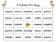 Two Syllable Long Vowel (VCe) Phonics Bingo
