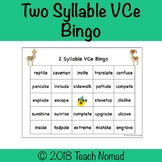 Two Syllable VCe Phonics Bingo