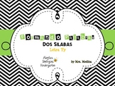 Two Syllable Word Mats (Spanish)