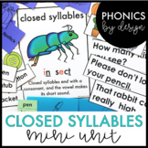Phonics by Design Two Syllable Words with Closed Syllables {VCCV} Mini Unit