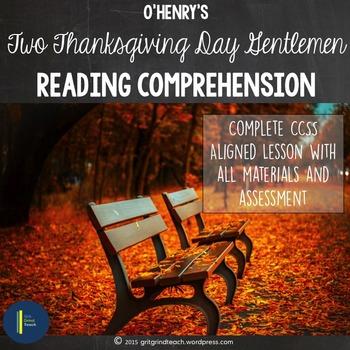 Two Thanksgiving Day Gentlemen: Comprehension