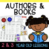Two & Three's AUTHOR Lesson Plans
