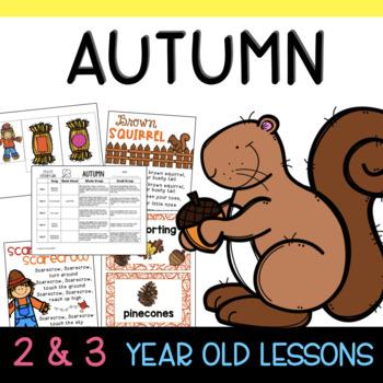 Two & Three's AUTUMN Lesson Plans