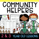 Two & Three's Community Helpers Lesson Plans