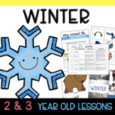 Two & Three's WINTER Lesson Plans