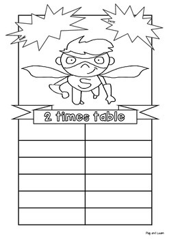 FREE - Two Times Table and Division Cut and Paste Worksheets