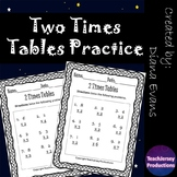 Two Times Tables Practice
