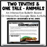 Two Truths // One Tale Google Slide Activity or Interactiv