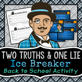 Two Truths and One Lie {Icebreaker Activity}