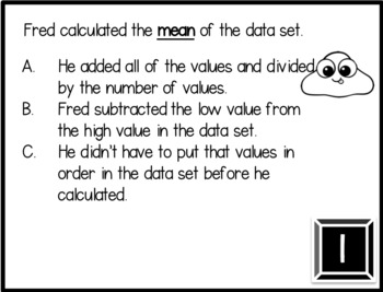 Two Truths and a Lie Math Vocabulary Set 28 Statistical Questions