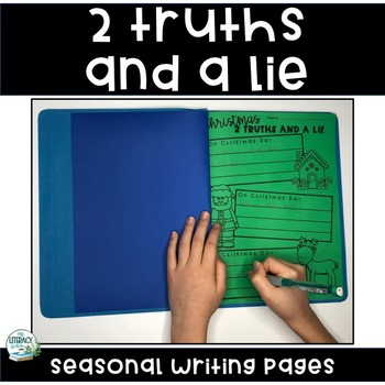 Two Truths and a Lie Seasonal Writing