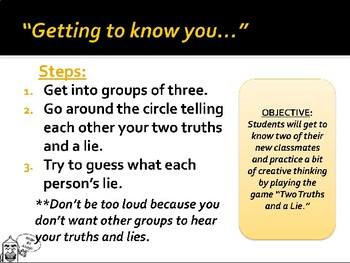 Two Truths and a Wait Wait Don't Tell Me Icebreaker Activity