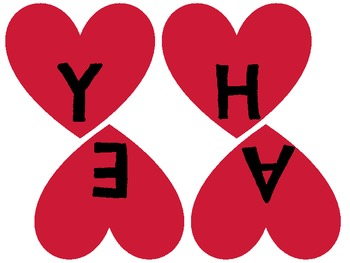 Two Valentine's Pennant/s or Bunting to hang in your classroom