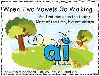Two Vowels Go Walking