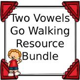 Two Vowels Go Walking Resource Bundle: I Have Who Has, Word Sort, & More