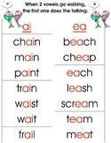 Phonics- Vowel Teams-Two Vowels Walking